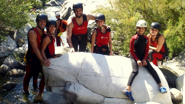 Canyoning with the family in Benahavis, Family fun adventure on the Costa del sol